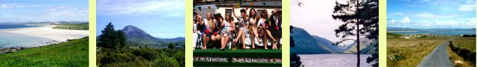 Narin Strand, Mount Errigal, Mary from Dungloe, Glenveigh National Park, Arranmore Island